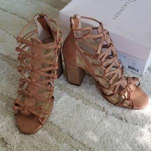 Chinese Laundry Brown Tegan Gladiator Sandal